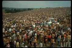 The Woodstock Music & Art Fair was a music festival attracting an audience of over people, scheduled over four days on a dairy farm in New York state from August 15 to Here you can see some colorful pictures of the event.