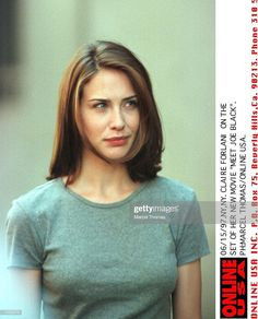 News Photo : Claire Forlani on the set of 'Meet Joe Black' Female Actresses, English Actresses, Hot Actresses, Beautiful Actresses, Claire Forlani, Joe Movie, Hair Color Dark, Gal Gadot, Classic Beauty