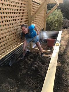 raised bed and trellis, gardening, raised garden beds