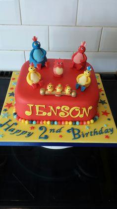 Twirlywoos cake Twirlywoos Cake, Birthday Cakes, 2nd Birthday, Oscars, Treats, Cookies, Tv, Desserts, Food