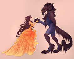 Beauty and the Beast by CrystallizedTwilight.deviantart.com on @deviantART