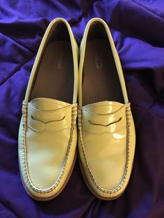 womens bass patent leather penny loafers   Clothing, Shoes & Accessories, Women's Shoes, Flats   eBay!
