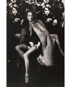 Charlotte Rampling by Helmut Newton, 1970's