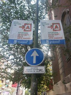 Cartel Apertura Madrid 2013 #Cartel #Affiche #Arterecord https://twitter.com/arterecord