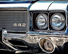 Classic muscle car Oldsmobile 442 an 8 x 10 by EsalonPhotography, $40.00