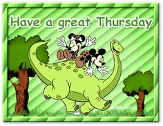 Have a great Thursday quotes quote disney mickey mouse minnie mouse days of the week thursday thursday quotes Happy Thursday Quotes, Happy Day Quotes, Thankful Thursday, Mickey And Minnie Love, Mickey Mouse And Friends, Mickey Minnie Mouse, Thursday Pictures, Have A Great Thursday, Good Morning Greetings