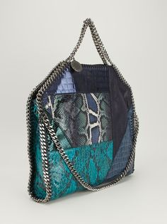 #STELLA ]MCCARTNEY - patchwork Falabella #bag