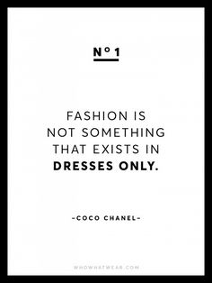 13 Rare Coco Chanel Quotes   WhoWhatWear UK