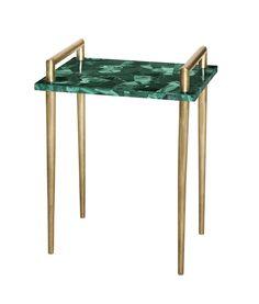 Malachite Handlebar Table - Emporium Home | Emporium Home