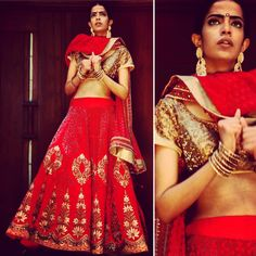 By designer J J Valaya. Bridelan- Personal shopper & style consultants for Indian/NRI weddings, website www.bridelan.com #Bridelan #weddinglehenga #JJValaya #JJValayaLehenga