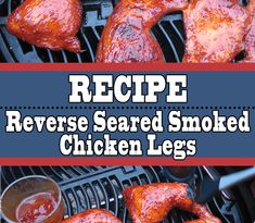 If you're doing smoked chicken legs for your upcoming barbecue, then you have to give this recipe a shot. Crispy skin and juicy meat, this is all you want from a chicken leg and then some more. Smoked Chicken Recipes, Grilled Bbq Chicken, Raw Chicken, Chicken Legs, Smoker Recipes, Grilling Recipes, Bbq Grill, Barbecue, Bbq Rub