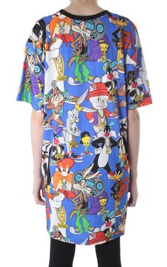 Looney Tunes cotton dress MOSCHINO