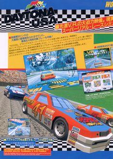 Daytona USA #arcade #sega #japan