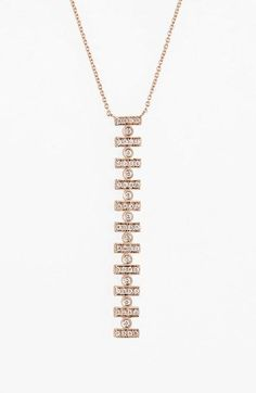 Dana Rebecca Designs 'Reese Brooklyn' Diamond Necklace available at #Nordstrom