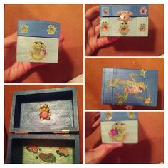Check out this item in my Etsy shop https://www.etsy.com/listing/339300496/frog-keepsake-box