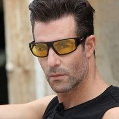 Štýlové pánske polarizované okuliare na jazdu v noci, daždi a hmle Wayfarer, Ray Bans, Mens Sunglasses, Style, Fashion, Moda, La Mode, Fasion, Fashion Models