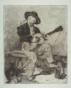 Édouard Manet   The Spanish Singer (Le Guitarrero)   The Met