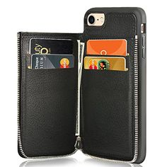"iPhone 8 Wallet Case, LAMEEKU iPhone 7 / 8 Leather Case Wallet, Shockproof Protective iPhone 7 / 8 Card Holder Cases with Zipper ID Credit Card Slot for Apple iPhone 7 / iPhone 8 4.7""  https://topcellulardeals.com/product/iphone-8-wallet-case-lameeku-iphone-7-8-leather-case-wallet-shockproof-protective-iphone-7-8-card-holder-cases-with-zipper-id-credit-card-slot-for-apple-iphone-7-iphone-8-4-7/  【Apple iPhone 7 / 8 Cases with Money Pocket】: Only compatible with Apple iPho"