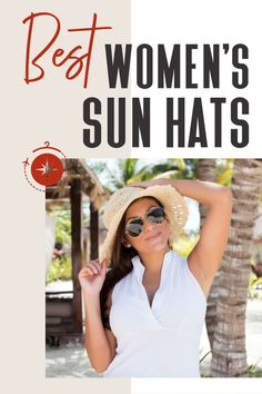 A great way to protect yourself is to pack a sun hat, ideally something that will offer sufficient coverage for your face. From straw to floppy, packable to fashionable, we've got a whole host of choices for you! #TravelFashionGir #TravelFashion #TravelAccessories #sunhat #fashionsunhat #wardrobe Travel Hat, Travel Style, Adventure Hat, Canvas Hat, Sun Protection Hat, Floppy Sun Hats, Sun Hats For Women, Visor Hats