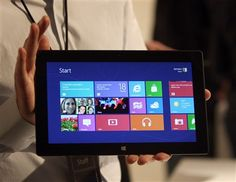 Microsoft apresenta concorrente do iPad