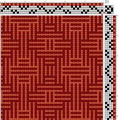 Image result for 4 shaft weaving