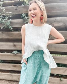 80 Likes, 4 Comments - Eva's Sunday Drop Crotch, China Fashion, Shades Of Green, Lace Skirt, Harem Pants, Fashion Outfits, Fabric Covered, Stylish, Affair