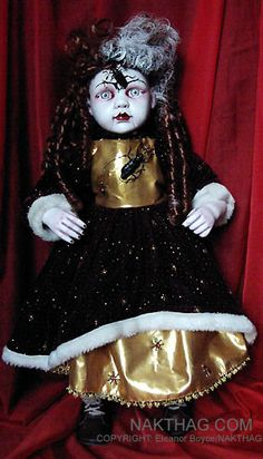 NURSERY CRYMES Bugberta - Gothic Horror doll by NAKT-HAG.deviantart.com on @deviantART