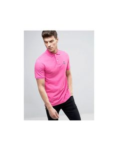 Psycho Bunny Polo Shirt In Pink - Pink