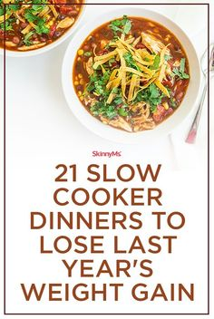 21 Slow Cooker Dinners to Lose Last Year's Weight Gain