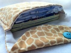 Travel Diaper Clutch for diapers & wipes many Cute & Modern styles available by peaceloveandbabyshop, $8.00