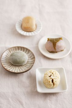 Mochi and other Japanese sweets.