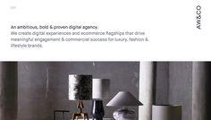 AW&CO  Digital Agency  Web Design & Ecommerce  Luxury Fashion & Lifestyle Brands