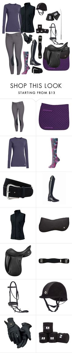 """""""Dressage Schooling 8"""" by karleneduv on Polyvore featuring Ariat, Under Armour and Roeckl"""