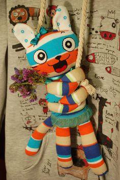 064 | cat-hug. #plush #toy #handmade