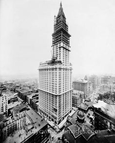 Woolworth Building Under Construction, July 1, 1912