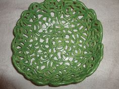 Fruit bowl Decorative Bowls, Ceramics, Fruit, Home Decor, Ceramica, Pottery, Decoration Home, Room Decor, Ceramic Art