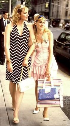 Carrie and Sam #satc