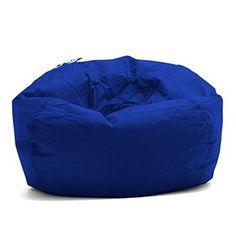 Denim Bean Bag 200L Blue Beanbag Sofa Cushion Decor Lounge Bed Soft Chair New