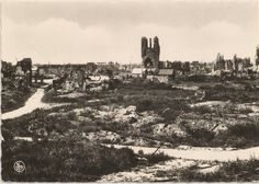 Ypres on Armistice Day 1918.
