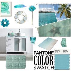 Pantone Color Swatch: Aqua Sky #pantonecolorswatch