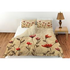 Found it at Wayfair - Floral Paisley Stems Duvet Cover Collection