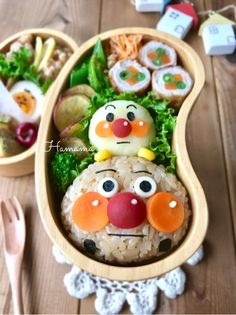 {C64FEA8E-F0F3-4B19-894C-2BB2D568AD50} Kawaii Bento, Cute Bento, Bento Kids, Bento Box Lunch, Japanese Lunch Box, Japanese Food, Cute Food, I Love Food, Kawaii Cooking