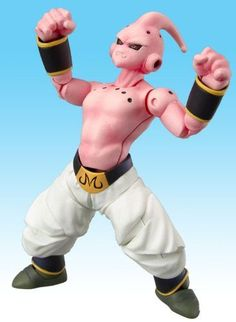 Dragonball Z BanDai Hybrid Action Mega Articulated 4 Inch Action Figure Majin Buu