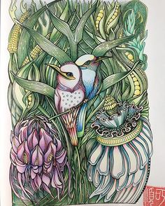 #zifflinscoloringbook #manicbotanic #zifflin #mitsubishipencil #irinavinnik…
