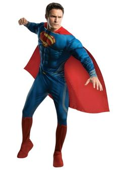 Marvelous This Superman Man Of Steel Deluxe Costume For Adults Is An Officially  Licensed Costume From The