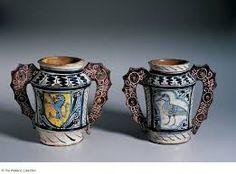 tin glazed earthenware