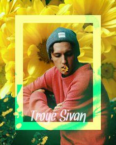 Troye Sivan wallpaper- credits @myrandomfanarts on instagram