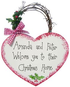 Large Christmas Sign (Personalised)