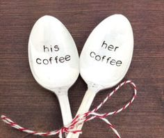 It doesn't matter if it's his coffee or her coffee. You'll both sharing morning coffee with each other for the rest of your lives.