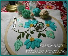 See related links to what you are looking for. Mexican Embroidery, Cutwork Embroidery, Hand Embroidery Flowers, Shirt Embroidery, Embroidery Hoop Art, Hand Embroidery Patterns, Cross Stitch Embroidery, Sewing Art, Sewing Crafts